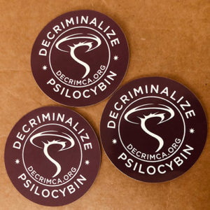Decriminalize California Sticker 2″ – 5 Pack