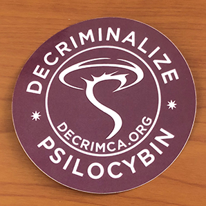 Decriminalize California Sticker 3″